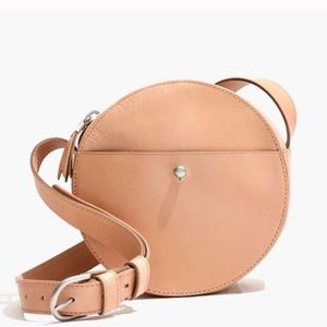 Madewell Marfa Circle Crossbody purse bag leather